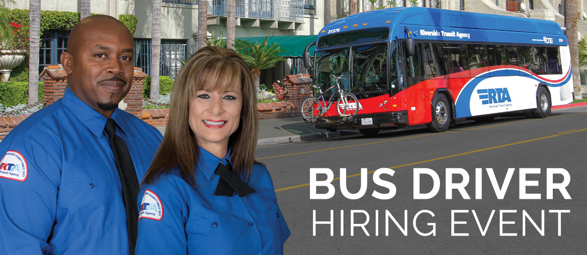 Bus Driver Hiring Event | Saturday, Jan. 11