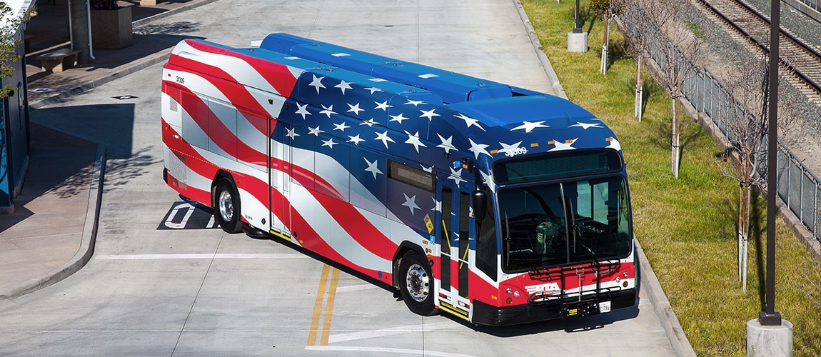 Buses Operate Regular Service on Veterans Day
