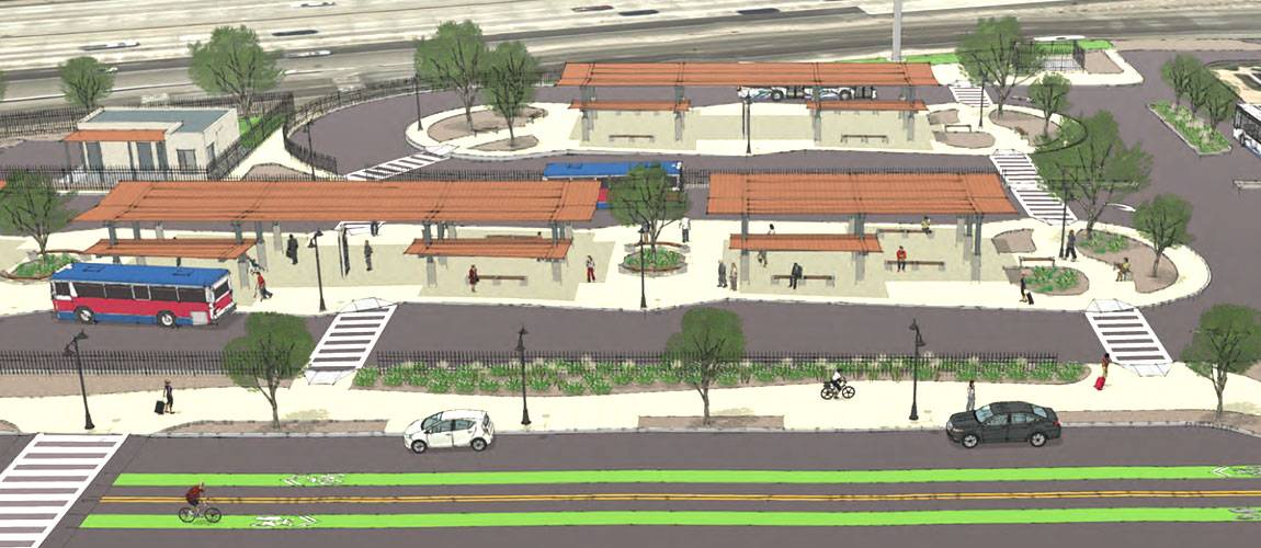 Board Approves the Vine Street Mobility Hub Conceptual Plan