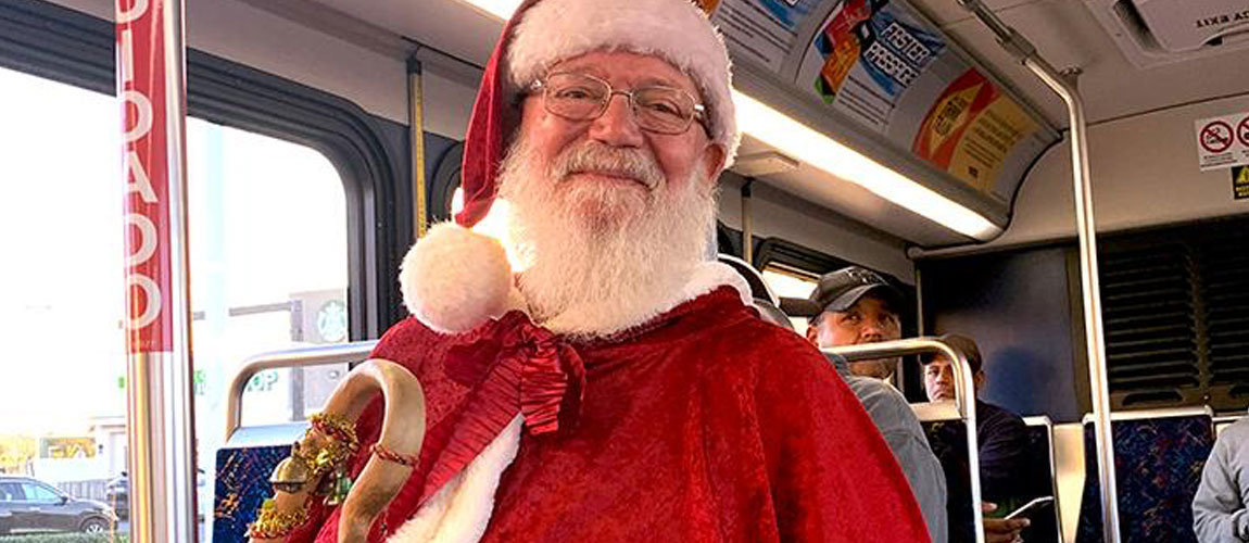 Santa to Ride RTA on Friday
