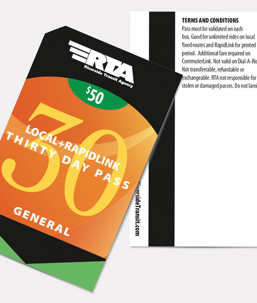 General 30 Day Pass | Local