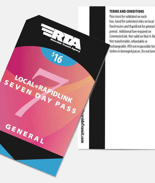 General 7 Day Pass | Local