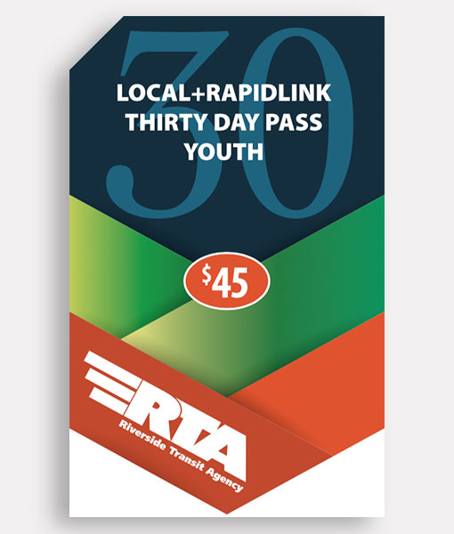 Youth 30 Day Pass | Local