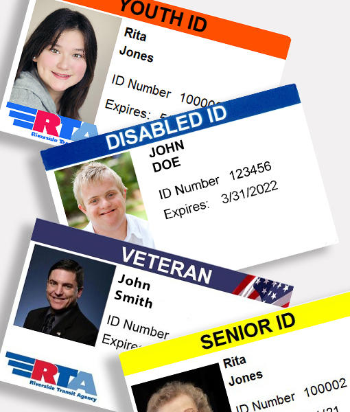 Reduced Fare ID Card Fee | Senior/Disabled/Veteran/Youth